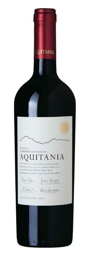 Vinho Tinto Aquitania Reserva Cabernet Sauvignon Chileno