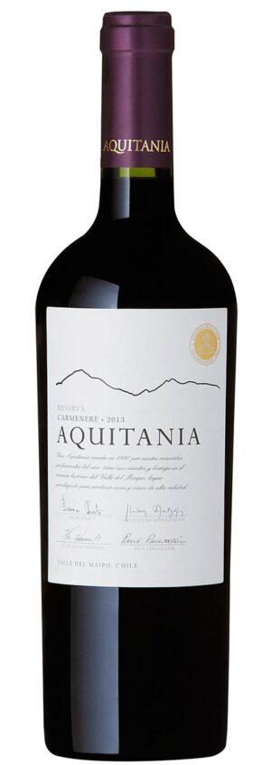 Vinho Viña Aquitania Reserva Carménère Chileno