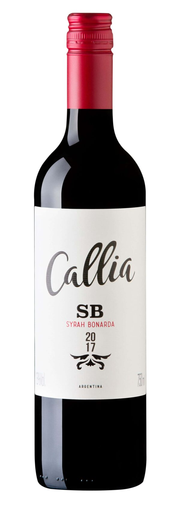 vinho callia syrah bonarda argentino
