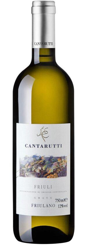 Cantarutti Friulano - Friuli Grave DOC vinho branco italiano
