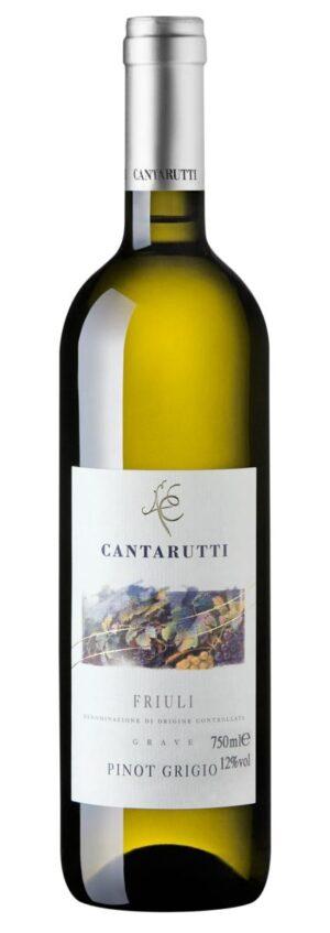 Cantarutti Pinot Grigio - Friuli Grave DOC vinho branco italiano