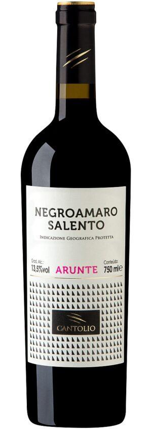'Arunte' Negroamaro vinho tinto italiano