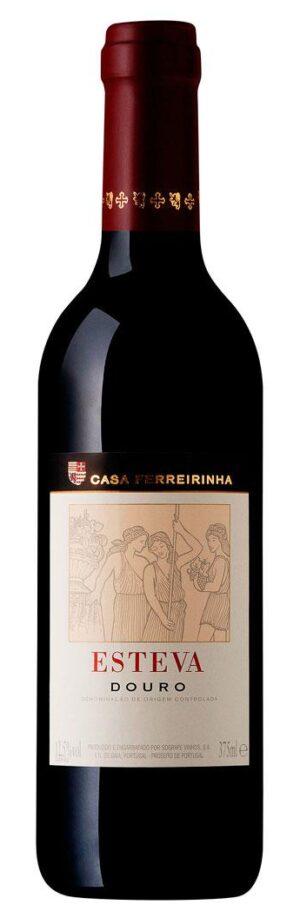 casa ferreirinha vinho tinto esteva meia garrafa375ml