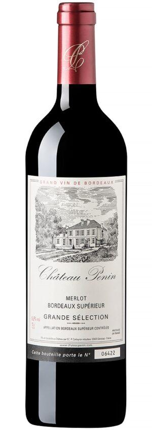 Château Penin Grande Sélection Bordeaux Supérieur vinho francês