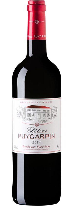 Château Puycarpin Bordeaux Supérieur vinho tinto francês