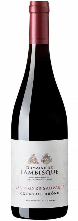 Vinho tinto Domaine de Lambisque - Les Vignes Sauvages Côtes du Rhône
