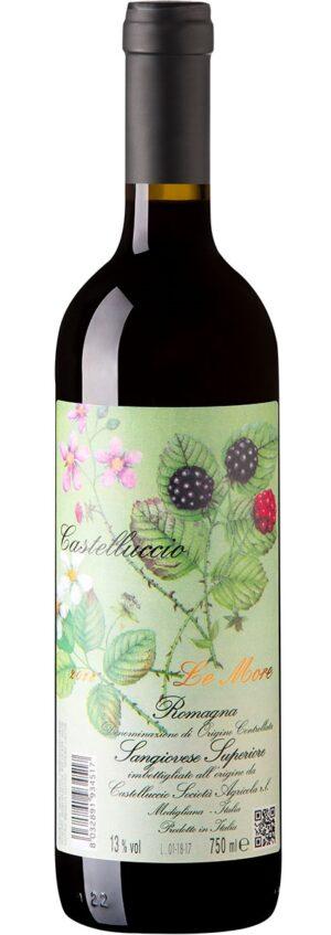'Le More' Sangiovese Romagna Superiore DOC vinho italiano
