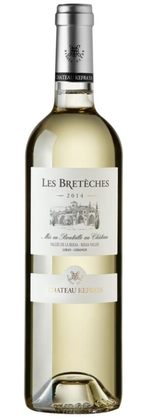 vinho branco libanês Les Bretèches Blanc