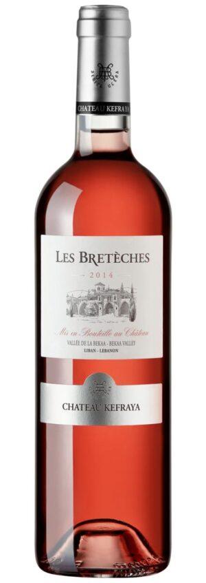 rosé libanês Les Bretèches Rosé