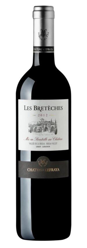 vinho tinto libanês Les Bretèches Rouge