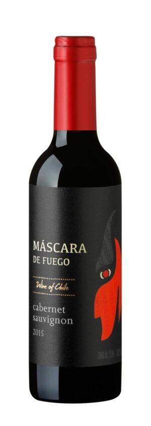 Máscara de Fuego Cabernet Sauvignon vinho - 375 ml meia garrafa