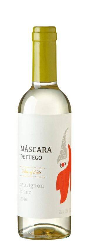Vinho Chileno Máscara de Fuego Sauvignon Blanc - 375 ml meia garrafa