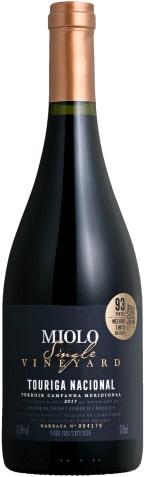 vinho miolo single vineyard touriga nacional