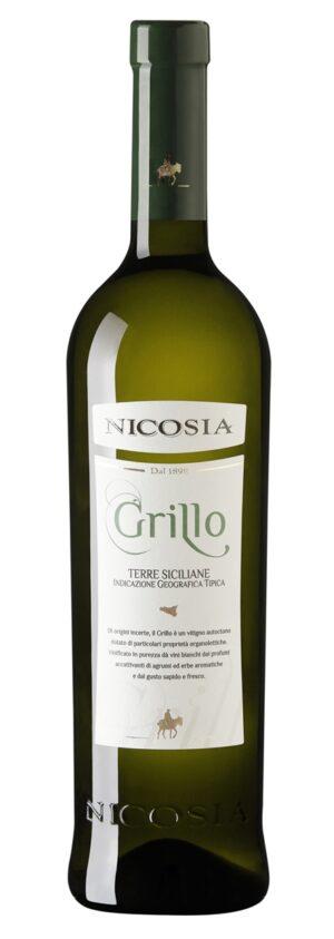 Nicosia Grillo - IGT Terre Siciliane vinho italiano