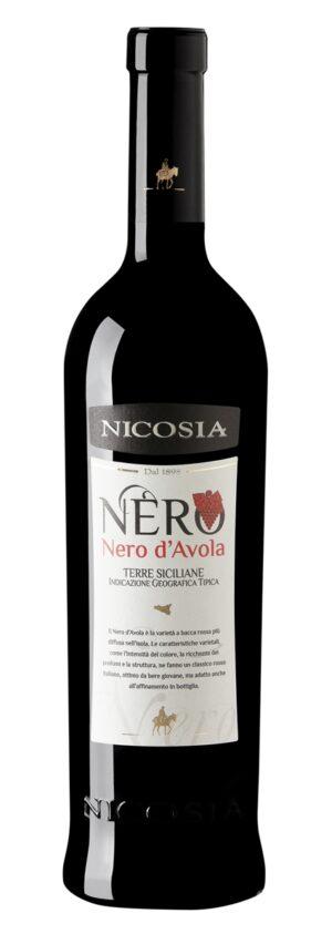 Nicosia Nero d'Avola - IGT Terre Siciliane vinho italiano