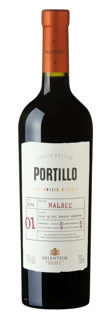 vinho portillo malbec argentino