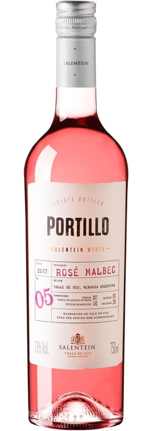 vinho portillo rose malbec argentino