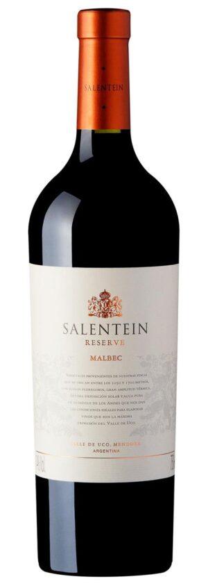 Vinho salentein reserve malbec Mendoza, Argentina