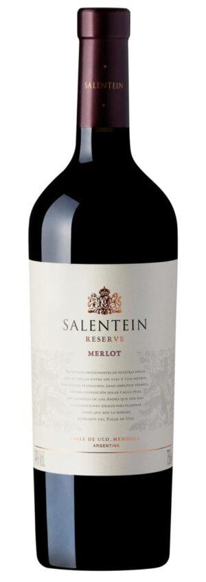 vinho salentein reserve merlot argentino