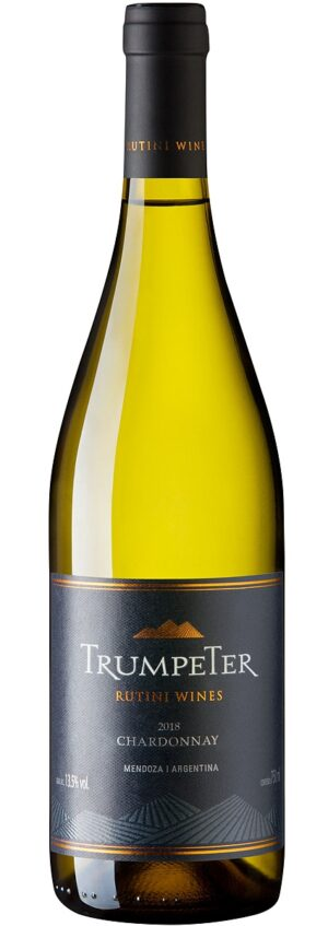 Rutini Wines trumpeter chardonnay Vinho Branco Argentino