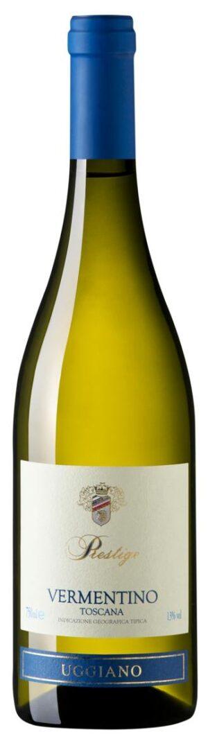 vinho branco italiano Uggiano Prestige Vermentino di Toscana IGT